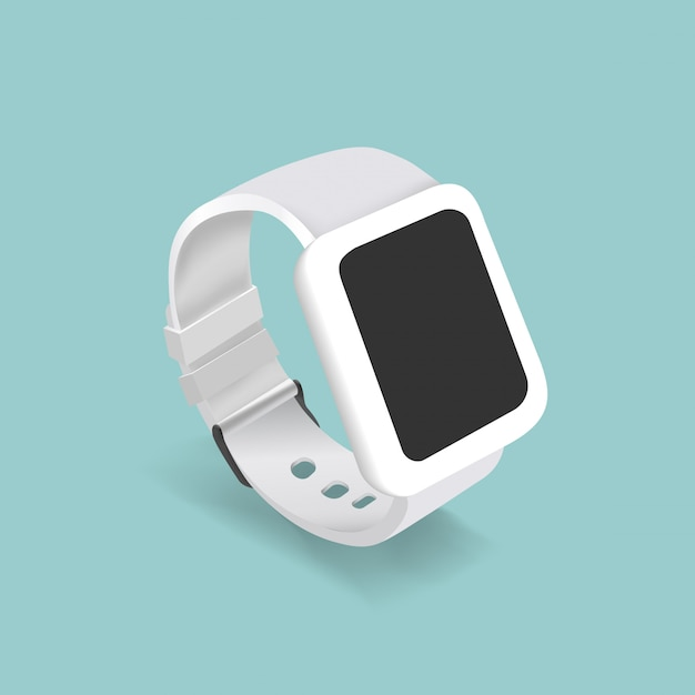 Vector of a smart watch Free Vector