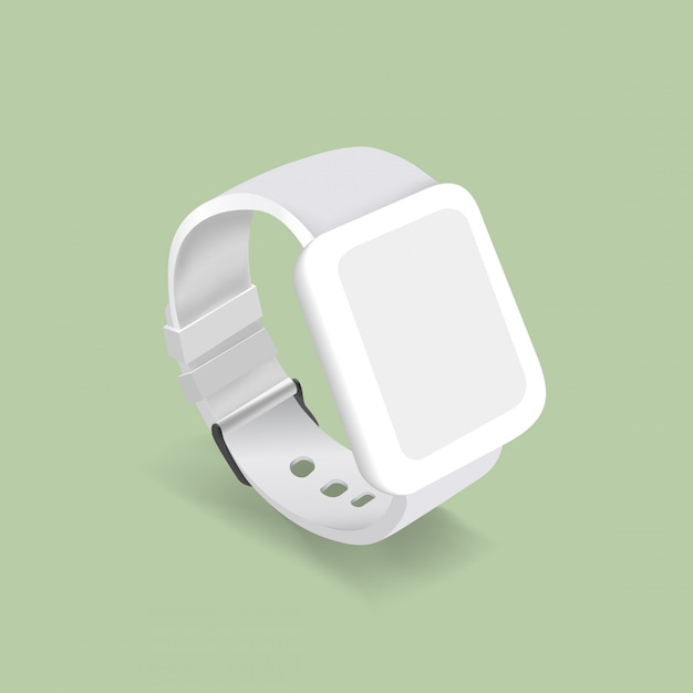 Vector of a smart watch Free Vector