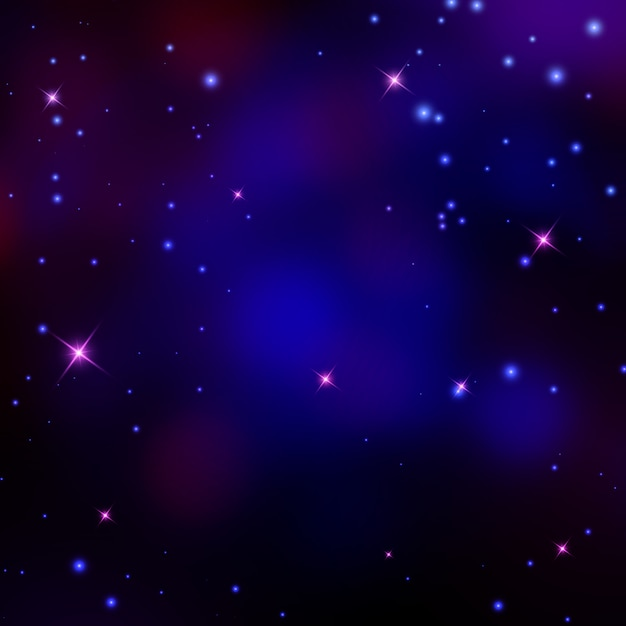 Vector space background illustration Premium Vector