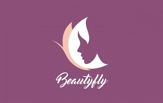 Vector symbols logo designs ideas women portrait Premium Vector