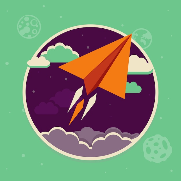 Vector travel concept in flat style Premium Vector