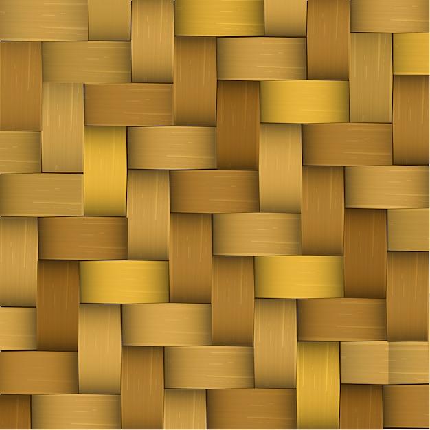 Vectorized palm weaving pattern Premium Vector