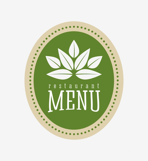 Vegetarian food menu Free Vector