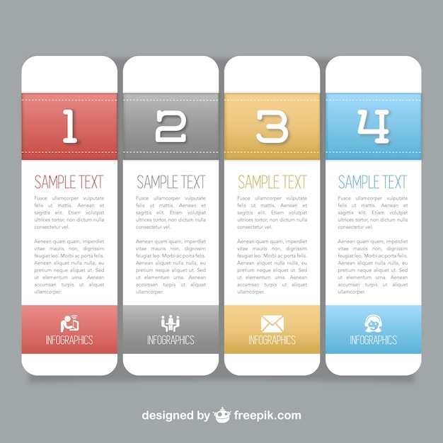 Vertical Banners Templates Vector Free Download