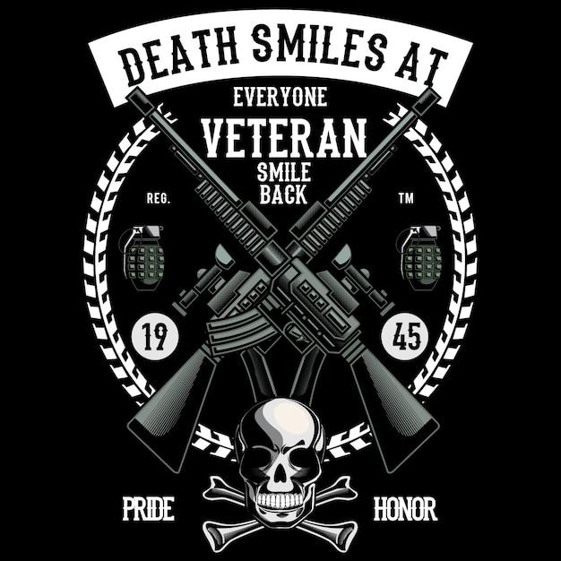Veteran Premium Vector