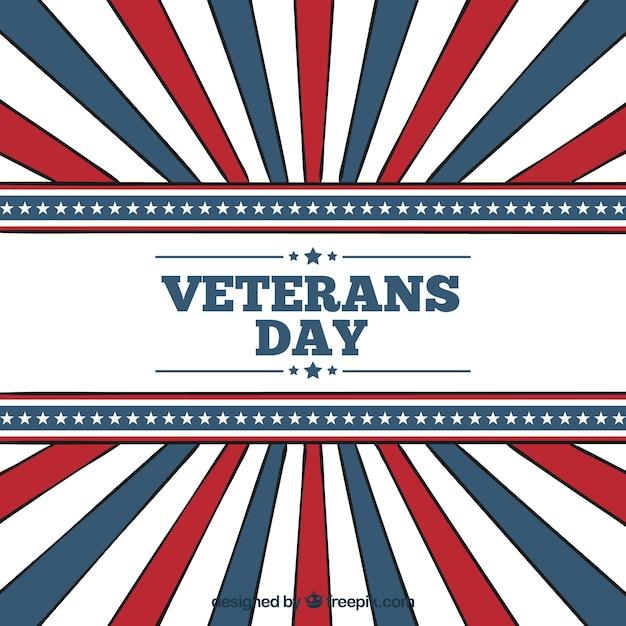 Veterans day stripes background