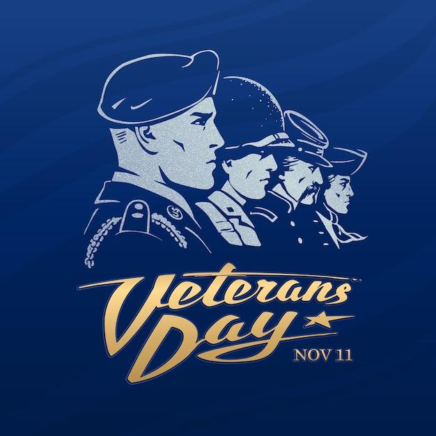 День ветеранов Premium векторы