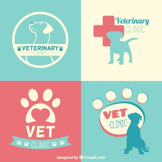 Veterinary clinic logo templates Vector | Free Download on veterinary referral form template, we love your pets template, veterinary job application template, veterinary new client form template, veterinary newsletter ideas, veterinary medical form template,