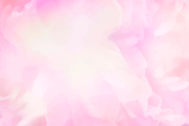 Vibrant pink watercolor painting background Free Vector
