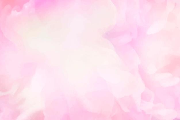 생생한 핑크 수채화 그림 배경 무료 벡터