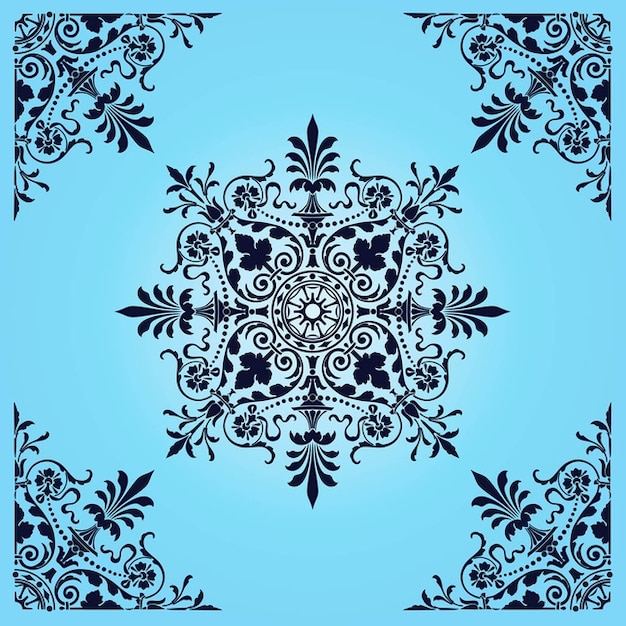 Victorian Pattern Vector | Free Download