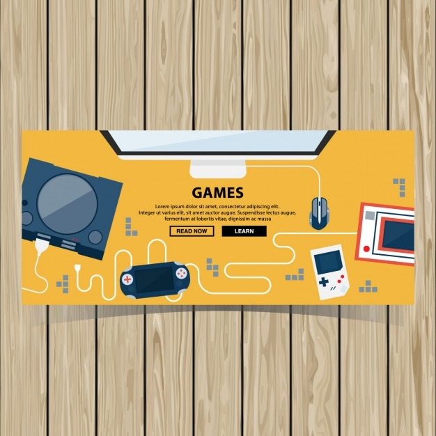 Video Game Brochure Template Vector  Free Download