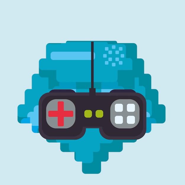 Video games design Premium Vector
