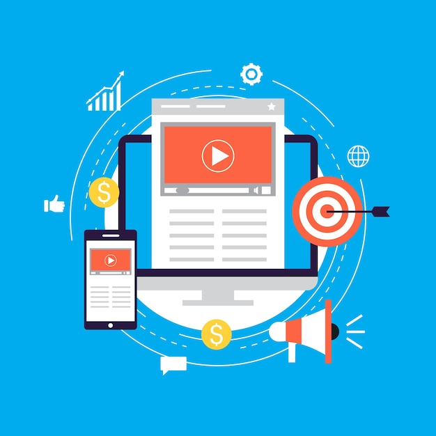 Video Marketing Campaign Online Promotion Digital Marketing