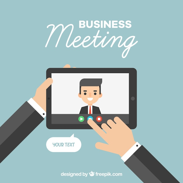 Video Conference Vectors, Photos and PSD files | Free Download