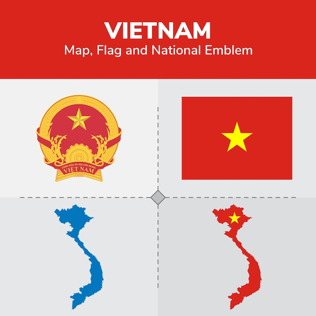 write about vietnam country flag