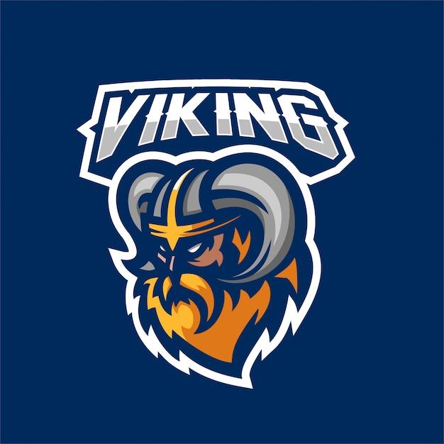 5b75bd51 Viking gods warrior esport gaming mascot logo template Vector ...