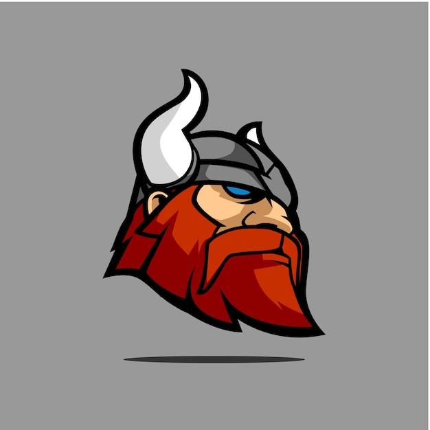 Viking head mascote Vector | Premium Download