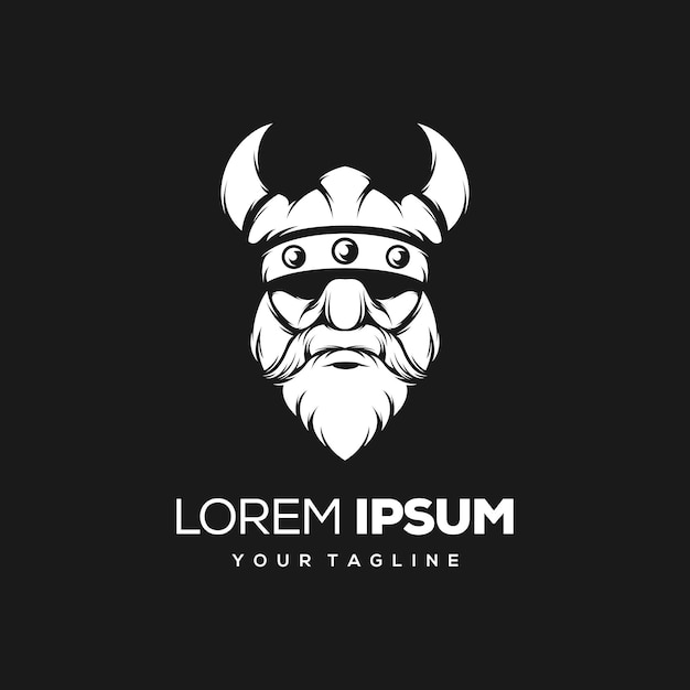 Premium Vector Viking Logo Design