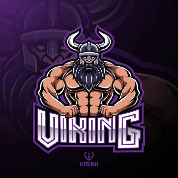 98a2d761 Viking sport mascot logo design Vector | Premium Download