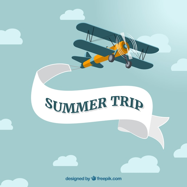 vintage airplane with message vector free download airplane clipart frequent flyer Biplane Silhouette