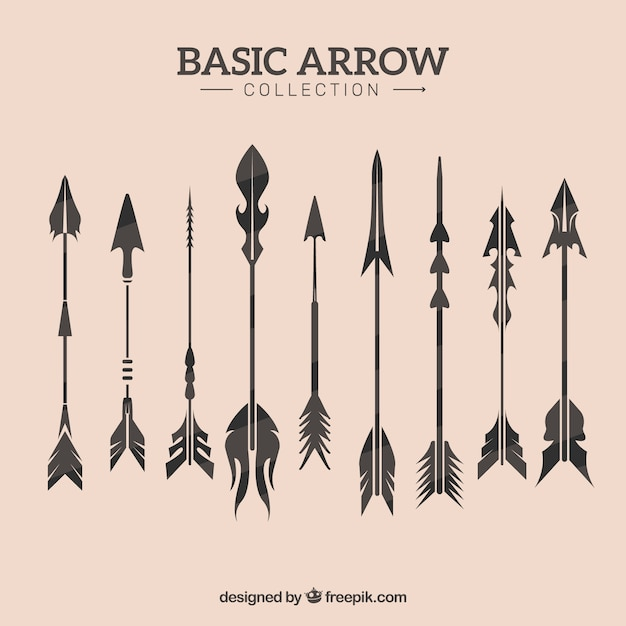 Vintage arrow collection