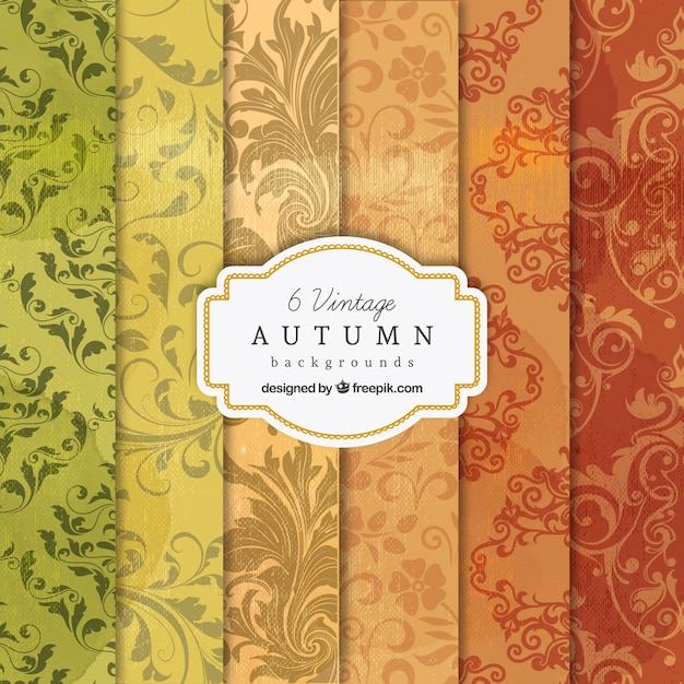 Vintage fall wallpapers