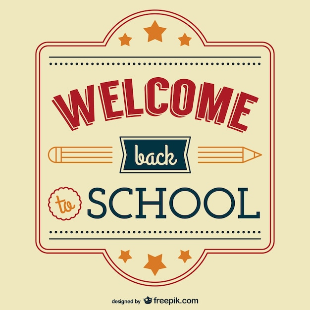 back to school vector - photo #32