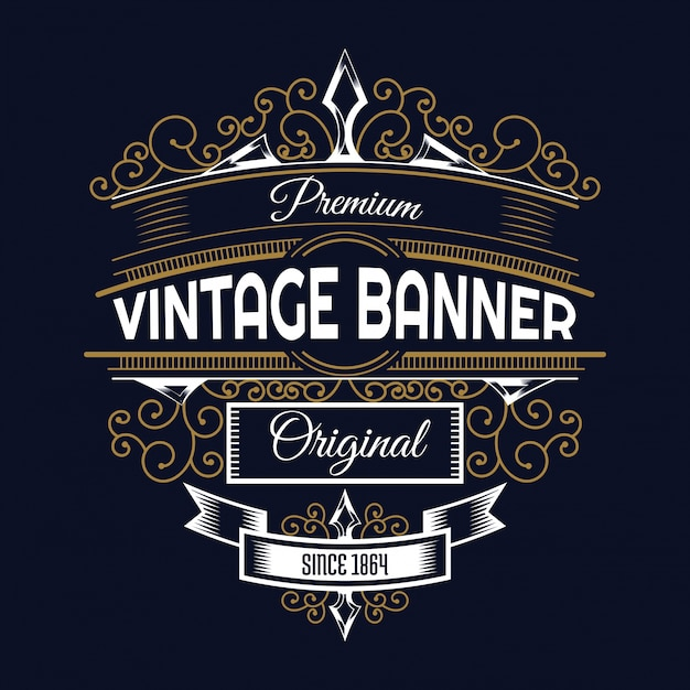 Vintage background Design Free Vector