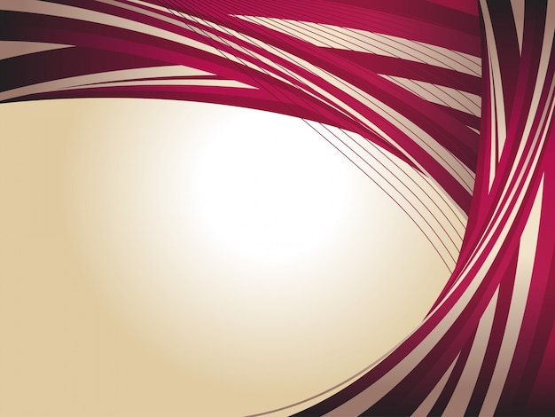 Vintage background with maroon lines Free Vector