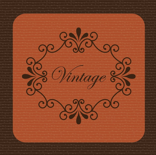 Vintage background Free Vector