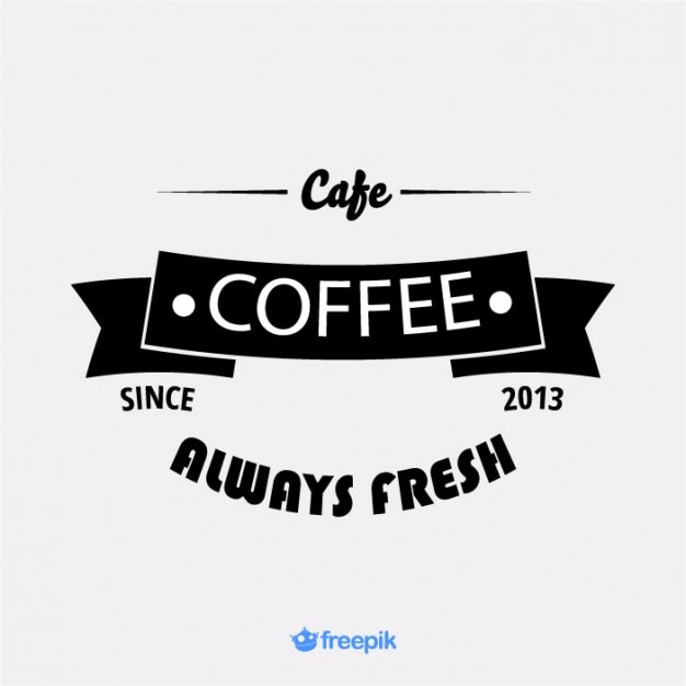 vintage banner coffee shop ii vector | free download, Powerpoint templates