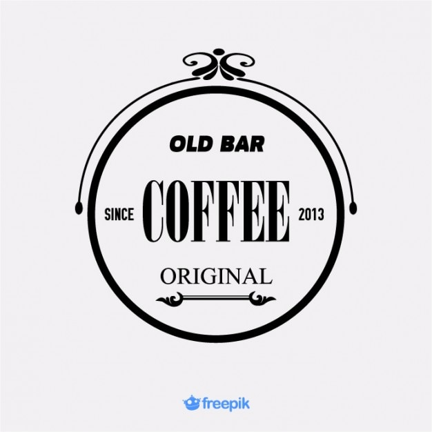 vintage banner old bar coffee vector | free download, Powerpoint templates