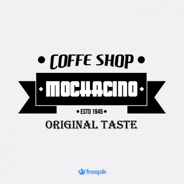 Vintage Banner on coffee shop Free Vector