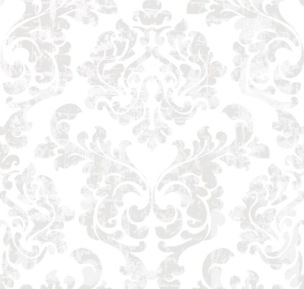 Vintage baroque pattern Premium Vector