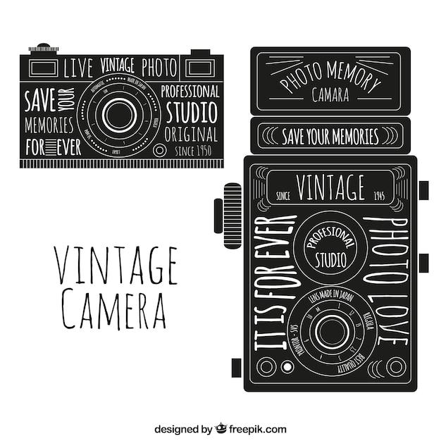 Vintage camera Vector | Premium Download
