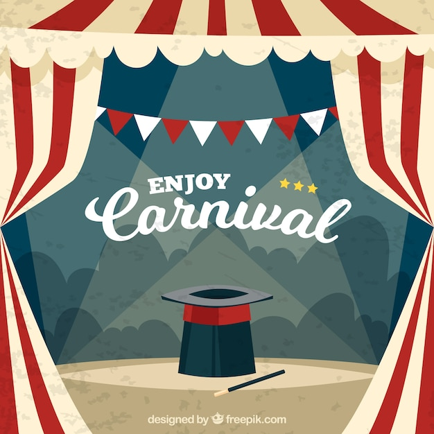 Vintage carnival background & Circus Tent Vectors Photos and PSD files | Free Download