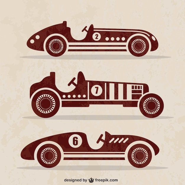 Vintage Cars Vector Vector Free Download