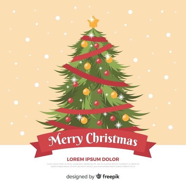 vintage christmas tree background 23 2148002958