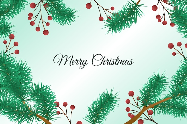 vintage christmas tree branches background 23 2148367096