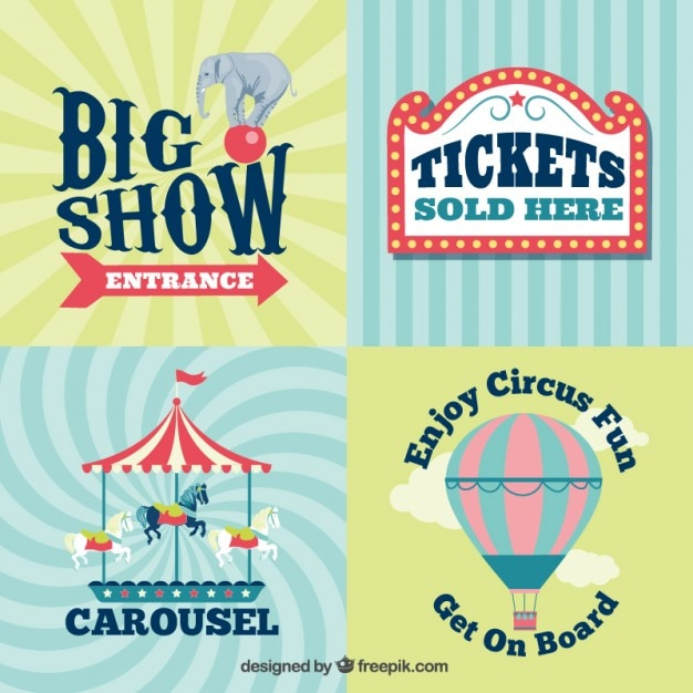 Vintage Circus Signs 33