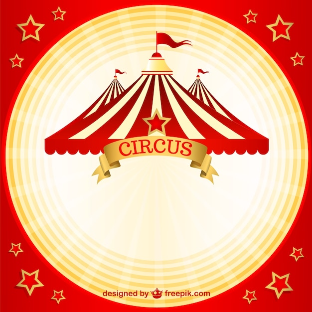 Vintage circus vector free download for Circus posters free