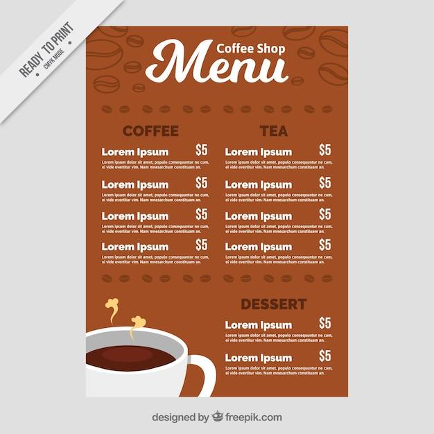 Best Coffee Shop Menu