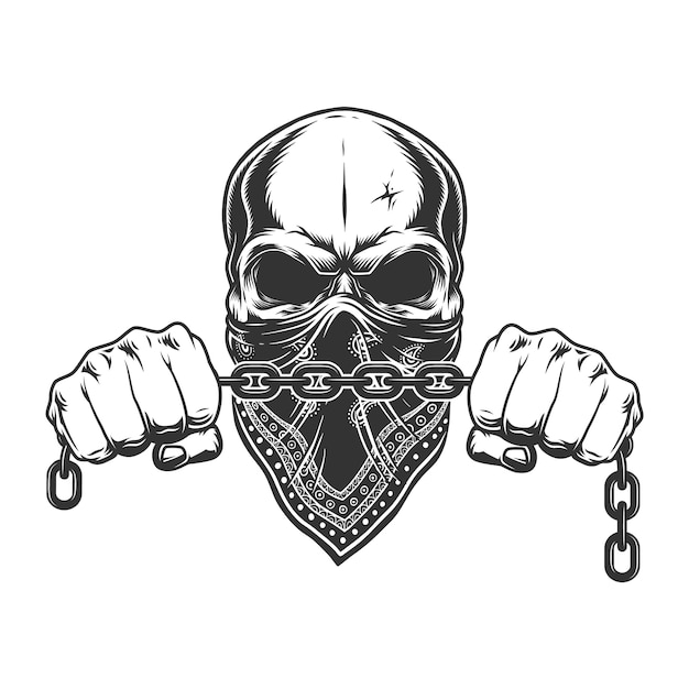 Винтажная криминальная концепция Бесплатные векторы