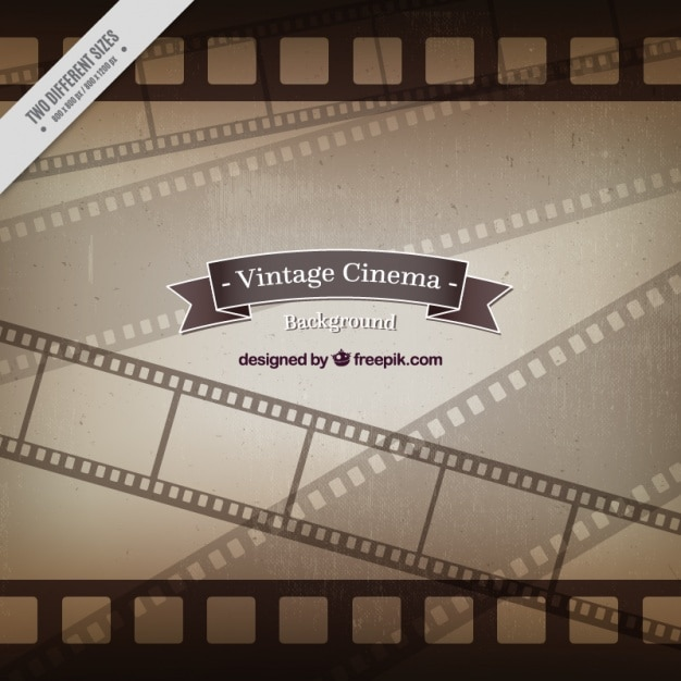 Vintage film frames background Vector | Free Download