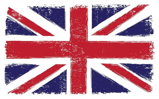 イギリスのヴィンテージのフラグ Premiumベクター