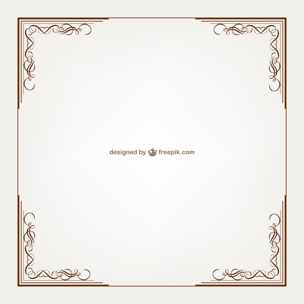 Vintage frame vector free download for How to make vintage frames