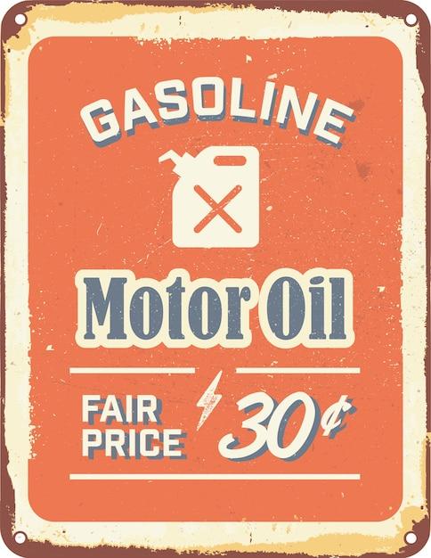 Vintage Gas Sign 24