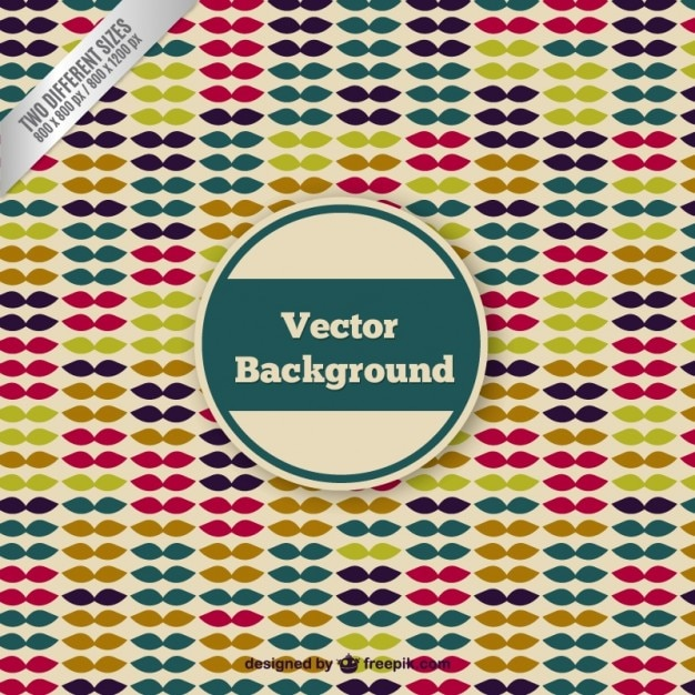 vintage hipster background vector free download