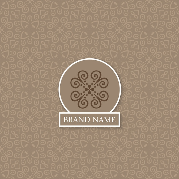 Vintage indian style background Free Vector